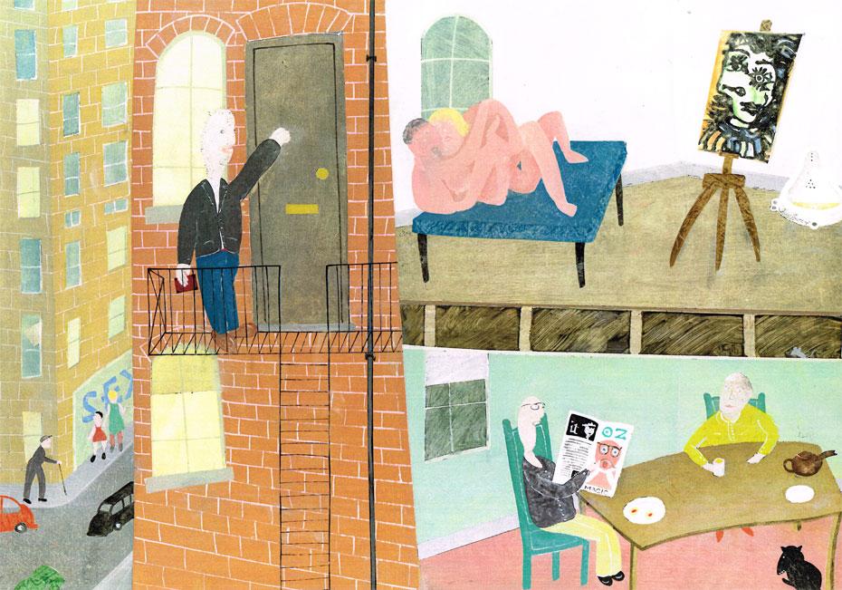 J---Picasso,-Vivian-Westwood,-Duchamp-Stanley-Spencer,-OZ-IT-Magazine,-Gunter-Grass-C-Woodall